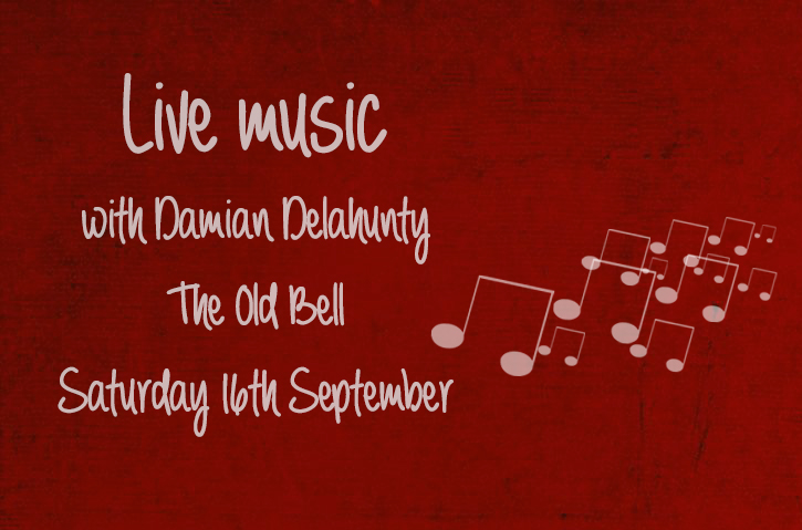LIVE MUSIC WITH DAMIAN DELAHUNTY